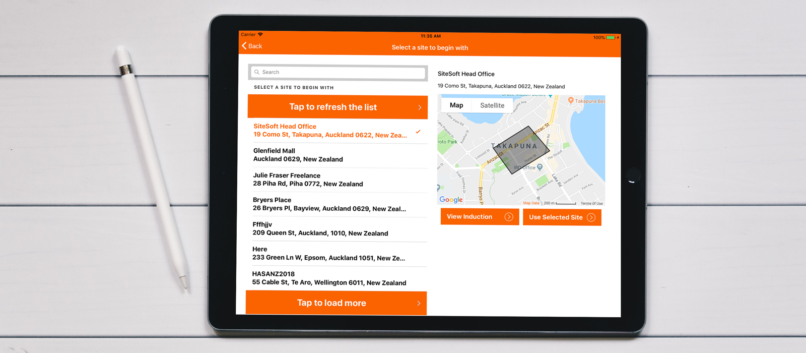 SiteSoft GeoTab is a robust, secure and scalable solution